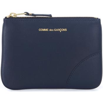 Bolsos Cartera Comme Des Garcons Bolso de mano  en piel azul Azul