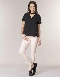 textil Mujer pantalones con 5 bolsillos Noisy May NMLUCY Rosa