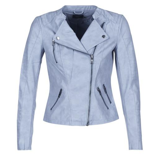1b55ae0ce9d Only AVA Azul - textil Chaquetas de cuero   Polipiel Mujer 49
