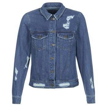 textil Mujer chaquetas denim Only BECKY Azul / Medium