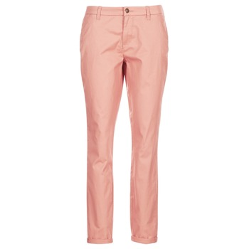 textil Mujer pantalones chinos Only PARIS Rosa