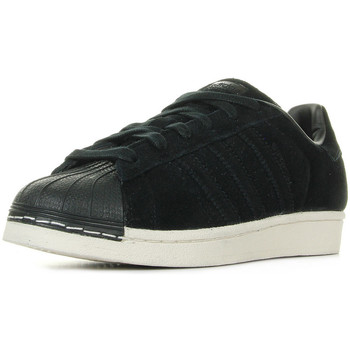 Zapatos Niños Deportivas Moda adidas Originals Superstar Core Black Negro