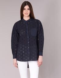 textil Mujer camisas Only IRMA Marino