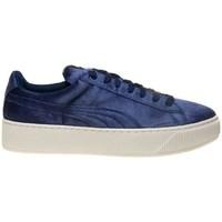 Zapatos Mujer Zapatillas bajas Puma Vikky Platform VR BL Azul marino