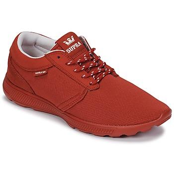 Zapatos Zapatillas bajas Supra HAMMER RUN Rojo