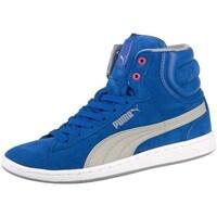Zapatos Mujer Zapatillas altas Puma Cross Shot Wns Blanco-Azul-Grises
