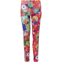 textil Niña leggings adidas Originals Mallas GRPHC AOP Multicolor / Blanco
