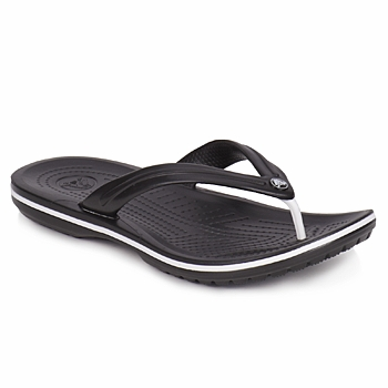 Zapatos Chanclas Crocs CROCBAND FLIP Negro