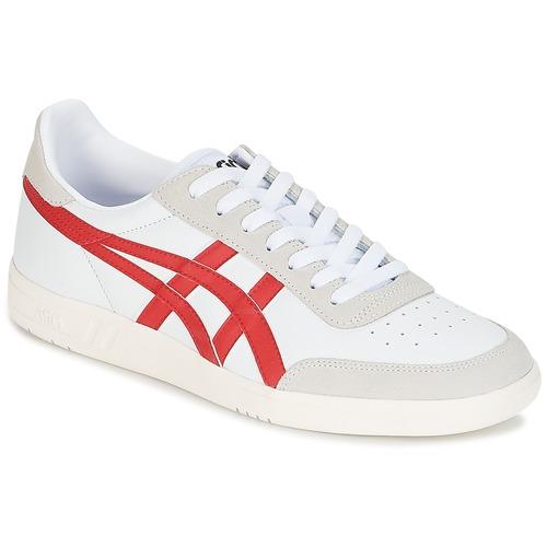 Zapatos promocionales Asics GEL-VICKKA TRS Blanco / Rojo  Zapatos casuales salvajes