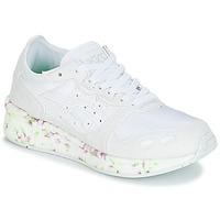 Zapatos Niños Zapatillas bajas Asics HYPER GEL-LYTE GS Blanco / Rosa / Verde
