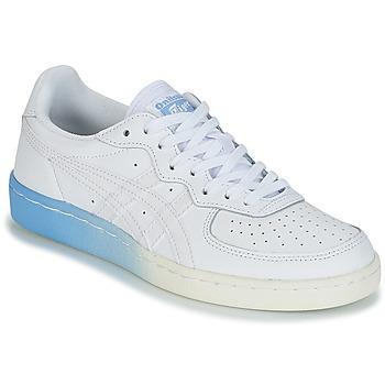 Zapatos Mujer Zapatillas bajas Onitsuka Tiger GSM LEATHER Blanco / Azul