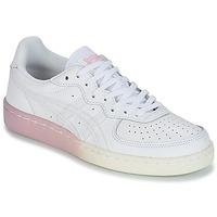 Zapatos Mujer Zapatillas bajas Onitsuka Tiger GSM LEATHER Blanco / Rosa