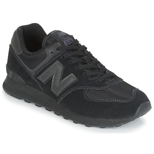 Zapatos especiales para hombres ML574 y mujeres New Balance ML574 hombres Negro 5b9b6b