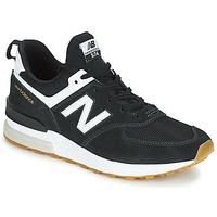 Zapatos Hombre Zapatillas bajas New Balance MS574 Negro