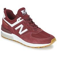 Zapatos Hombre Zapatillas bajas New Balance MS574 Burdeo