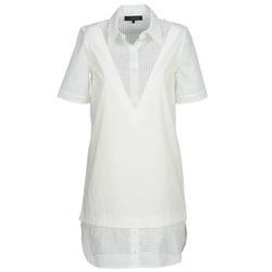 textil Mujer vestidos cortos American Retro CHARLOTTE Blanco