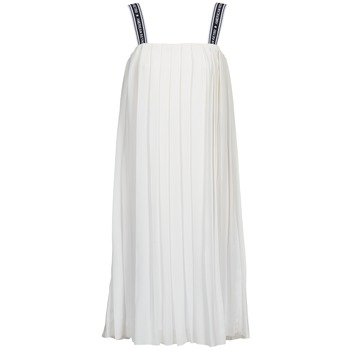 textil Mujer vestidos largos American Retro VERO LONG Blanco