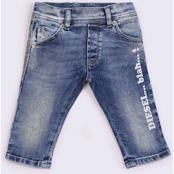 textil Niños Shorts / Bermudas Diesel KROOLEY 00K1IH VAQUEROS niño DENIM LIGHT BLUE DENIM LIGHT BLUE
