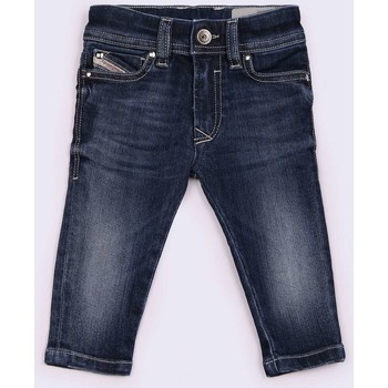 textil Niños Shorts / Bermudas Diesel SLEENKER-B 00K1MG VAQUEROS niño DENIM MEDIUM BLUE DENIM MEDIUM BLUE