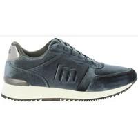 Zapatos Mujer Zapatillas bajas MTNG 69064 Gris