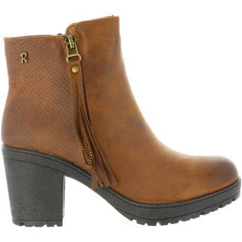 Zapatos Mujer Botines Refresh 63828 Marr?n