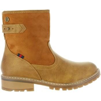 Zapatos Mujer Botines Refresh 63871 Beige