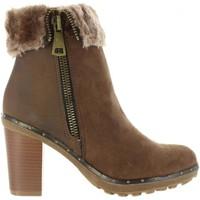 Zapatos Mujer Botines Refresh 64014 Marr?n