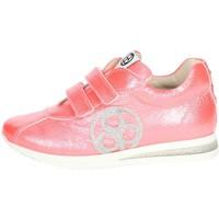 Zapatos Niños Zapatillas bajas Florens E2330 Zapatillas De Deporte Bajas Chica Coral Coral
