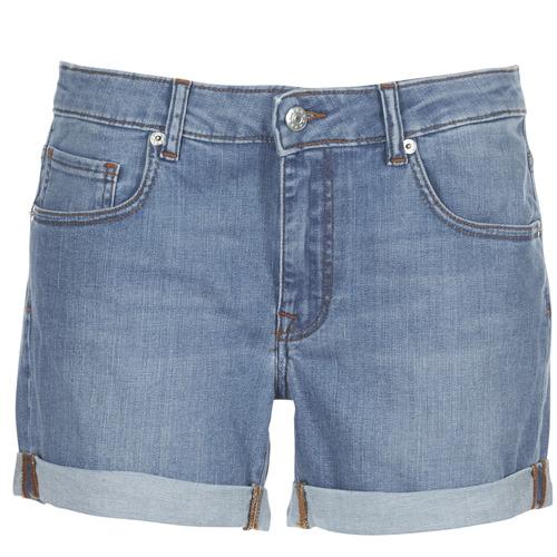 Yurban INYUTE Azul / Claro - Envío gratis | ! - textil Shorts / Bermudas Mujer