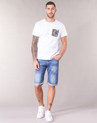 textil Hombre Shorts / Bermudas Yurban IXOLAK Azul / Claro
