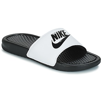 Zapatos Hombre Chanclas Nike BENASSI JUST DO IT Blanco / Negro