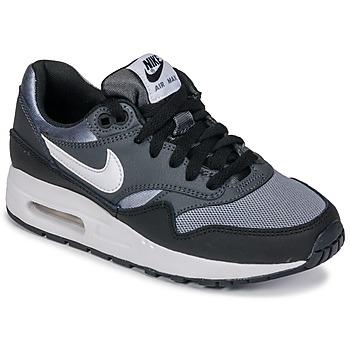 Zapatos Niño Zapatillas bajas Nike AIR MAX 1 GRADE SCHOOL Negro / Gris