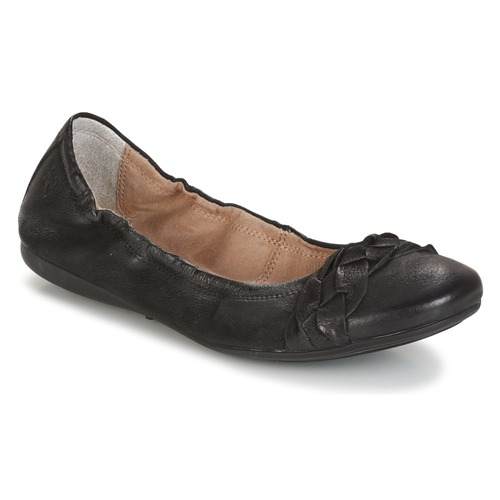 Zapatos Mujer Bailarinas-manoletinas Dream in Green TIRIOLA Negro