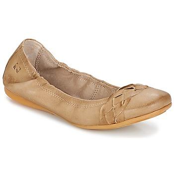 Zapatos Mujer Bailarinas-manoletinas Dream in Green TAVERNI Beige