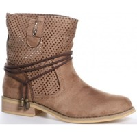 Zapatos Mujer Botines Luna Collection 28040 Beige
