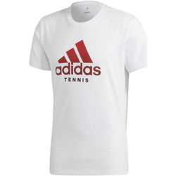 textil Hombre camisetas manga corta adidas Performance Camiseta Category Blanco