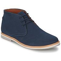 Zapatos Hombre Botas de caña baja Frank Wright BARROW NAVY / Lona