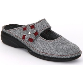 Zapatos Mujer Zuecos (Clogs) Finn Comfort Arlberg Light Greycassis Wollfilz Grises