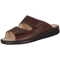 Zapatos Hombre Zuecos (Mules) Finn Comfort Riad Braun Karbo Marrón