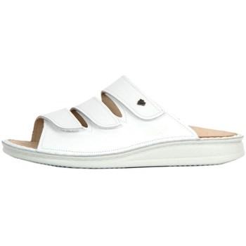 Zapatos Mujer Zuecos (Mules) Finn Comfort Korfu Weiss Nappa Blanco