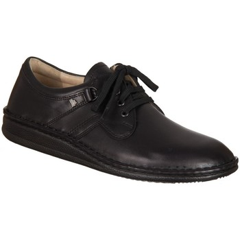 Zapatos Hombre Derbie Finn Comfort Vaasa Nappa Negros