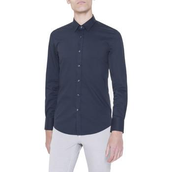 textil Hombre camisas manga larga Antony Morato MMSL00375/FA450001 Blu
