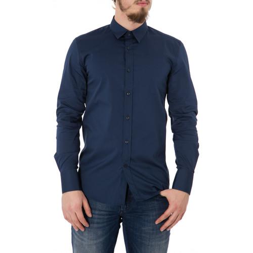 Antony Morato MMSL00375/FA450001 Blu - textil camisas manga larga Hombre
