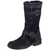 Zapatos Niños Botas de caña baja Däumling Alia Ozean Aspen Negro
