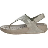 Zapatos Mujer Chanclas Pregunta PWFAWN Chanclas Mujer Marrón Taupe Marrón Taupe