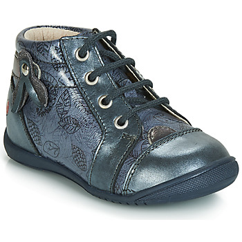 Zapatos Niña Zapatillas altas GBB NICOLE Vtv / Azul / Gris - estampado / Dpf / Kezia