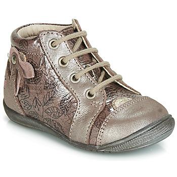 Zapatos Niña Zapatillas altas GBB NICOLE Vtv / Madera / De / Rose+impr / Dpf / Kezia