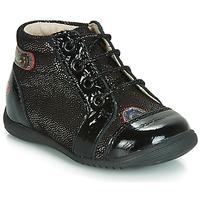 Zapatos Niña Zapatillas altas GBB NICOLE Negro / Brillantina