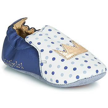 Zapatos Niña Pantuflas Catimini CHIQUETTE Azul / Blanco