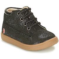 Zapatos Niña Zapatillas altas GBB NINON Negro / Brillantina